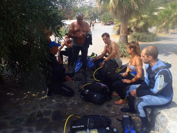 Spainventure Briefing Before to dive Fuengirola por fin lo hicimos