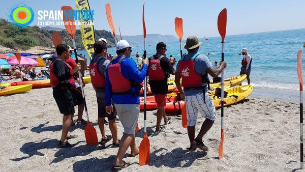 Spainventure kayak por el mediterraneo camino a la aventura
