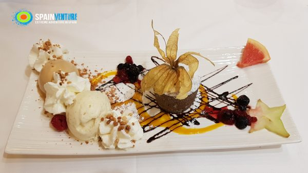 spainventure-dinner-at-tanicos-fuengirola-dessert-50th-birthday-trip