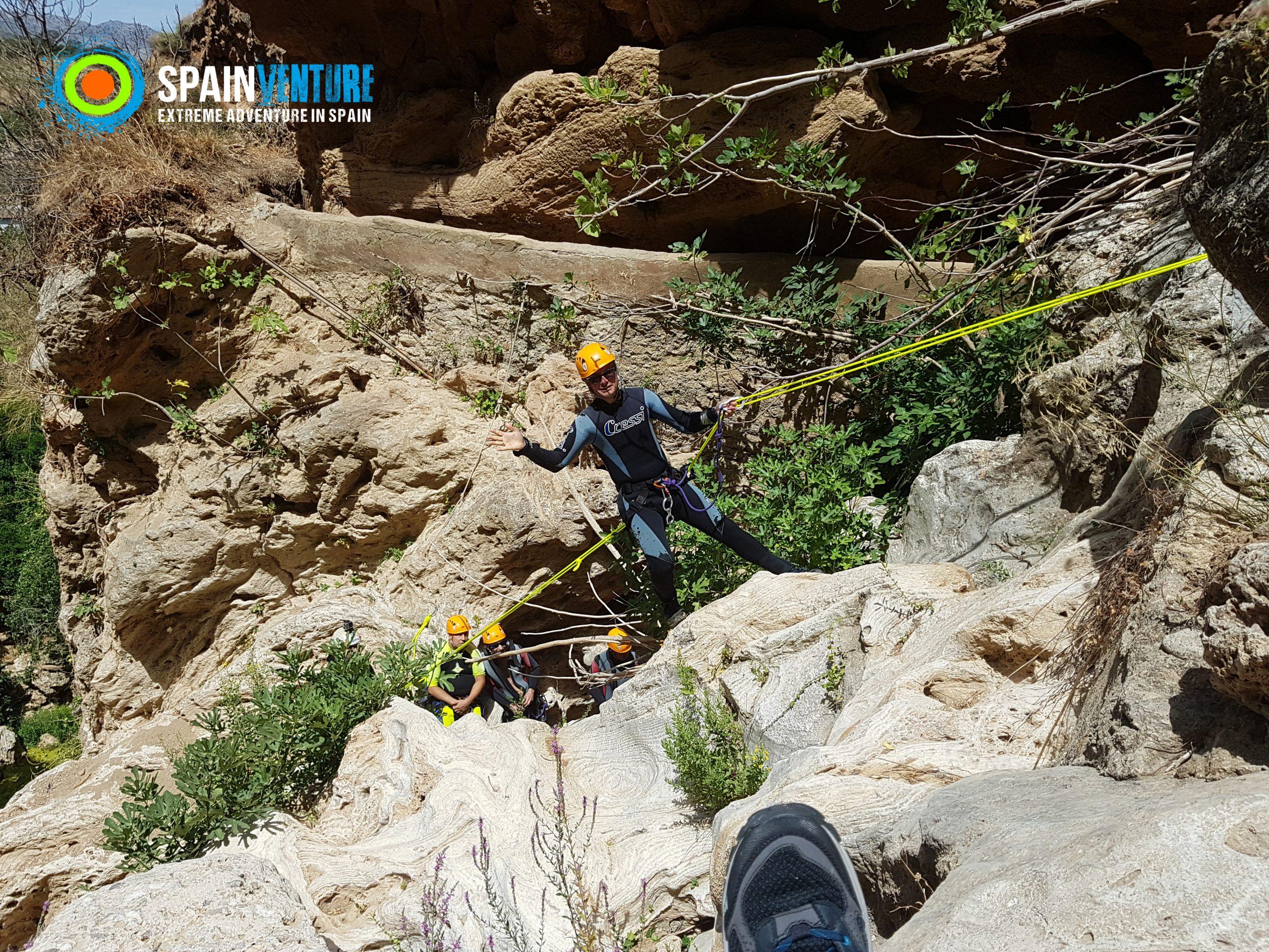 Spainventure Barranquismo Experiencia en Ronda